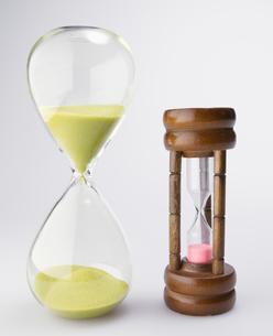 Two Hourglassesの写真素材 [FYI02945891]