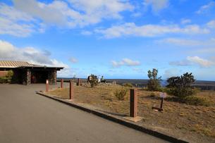ハワイ島 キラウエア火山ジャガーミュージアムの写真素材 [FYI02946185]