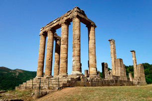 Temple of Antas, initially Punic, then Roman, nearの写真素材 [FYI02946231]