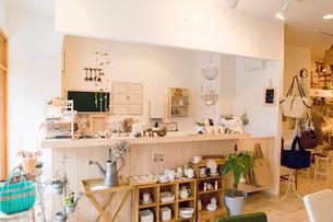カフェの店内の写真素材 [FYI02946264]