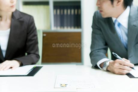 採用試験の面接官の写真素材 [FYI02947793]
