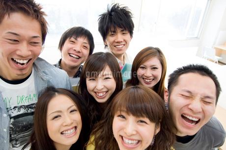 日本人大学生ポートレートの写真素材 [FYI02947860]