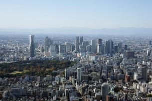 紀尾井町上空の空撮の写真素材 [FYI02948215]