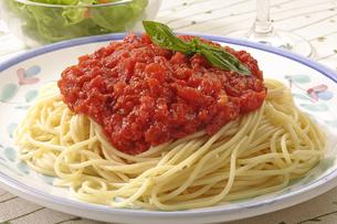 トマトソーススパゲティの写真素材 [FYI02948693]