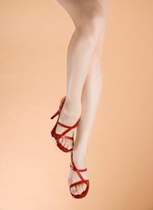 サンダルの足の写真素材 [FYI02949031]