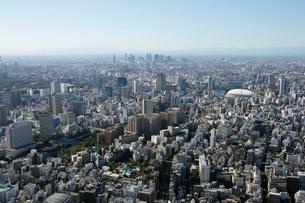 東京ドーム周辺の空撮の写真素材 [FYI02949417]