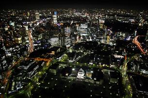 国会議事堂周辺の空撮の写真素材 [FYI02949928]