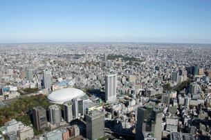 東京ドームシティ周辺の空撮の写真素材 [FYI02949981]