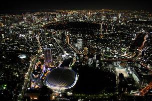 東京ドーム周辺の空撮の写真素材 [FYI02950263]