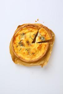 ブルーチーズキッシュの写真素材 [FYI02950469]