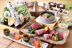 夏の和食コースの写真素材 [FYI02950505]