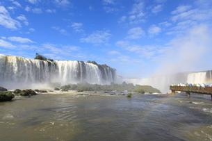 イグアスの滝の写真素材 [FYI02957630]