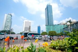 インドネシア ジャカルタの写真素材 [FYI02957716]