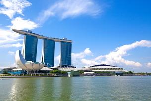 シンガポール マリーナベイサンズの写真素材 [FYI02957734]
