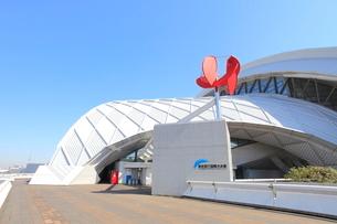 辰巳国際水泳場の写真素材 [FYI02957776]