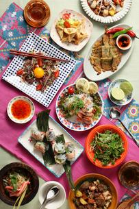 アジアン料理集合の写真素材 [FYI02957903]