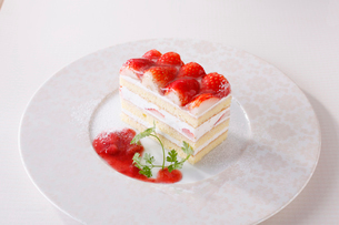 苺のショートケーキの写真素材 [FYI02957988]