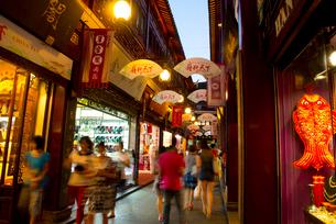 上海の豫園商城の写真素材 [FYI02958032]
