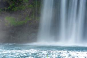 原尻の滝 スローシャッターの写真素材 [FYI02958115]