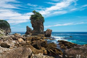 三王岩の写真素材 [FYI02958461]