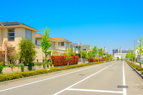 関西の住宅の写真素材 [FYI02958476]