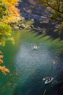 秋の高千穂峡の写真素材 [FYI02958486]