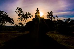 タイ王国 プープラバート歴史公園の写真素材 [FYI02958639]