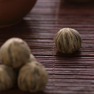 中国茶の茶葉の写真素材 [FYI02958942]
