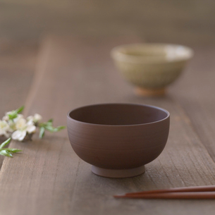 和食器と梅の写真素材 [FYI02959011]