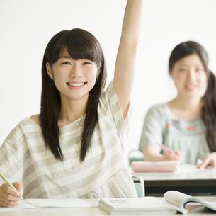夏期講習を受ける学生の写真素材 [FYI02959324]
