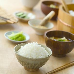 和食の食卓の写真素材 [FYI02959461]