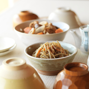 和食の食卓イメージの写真素材 [FYI02959503]