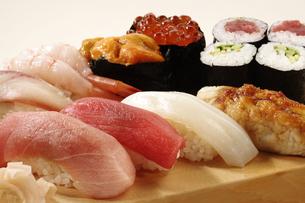 にぎり寿司の写真素材 [FYI02960096]