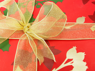 Close-Up of Christmas Presentの写真素材 [FYI02960566]