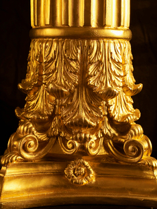 Close-Up of Golden Pillarの写真素材 [FYI02960674]