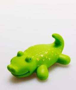 Single Toy Crocodileの写真素材 [FYI02960948]
