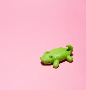 Plastic Toy Crocodileの写真素材 [FYI02961057]
