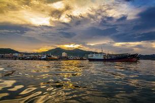 Dongping fishing port,Yangjiang, Guangdong, Chinaの写真素材 [FYI02961272]