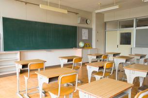 教室の写真素材 [FYI02961318]