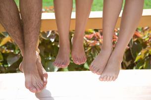 裸足のクローズアップの写真素材 [FYI02963209]
