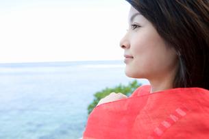 女性横顔の写真素材 [FYI02963802]