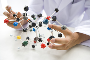 分子模型の写真素材 [FYI02964339]