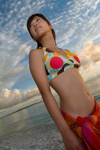 水着の女性の写真素材 [FYI02964412]