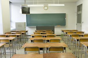 教室の写真素材 [FYI02965594]