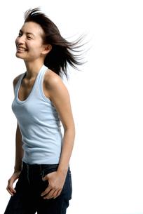 20代日本人女性のビューティーイメージの写真素材 [FYI02967107]