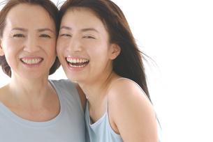 母と娘のビューティーイメージの写真素材 [FYI02967628]