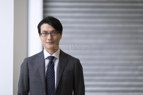 ビジネス男性のポートレートの写真素材 [FYI02968050]