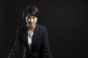 ビジネス女性のポートレートの写真素材 [FYI02969216]