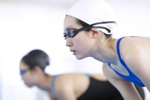 水泳をする女子学生の写真素材 [FYI02969370]