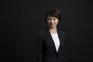 ビジネス女性のポートレートの写真素材 [FYI02973194]